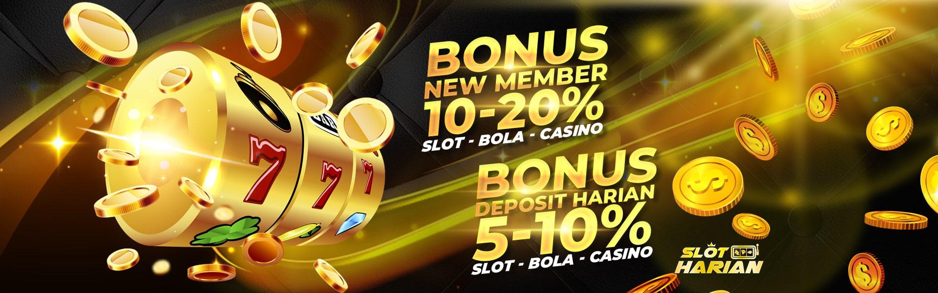 Slot Harian Promosi New Member & Deposit Setiap Hari
